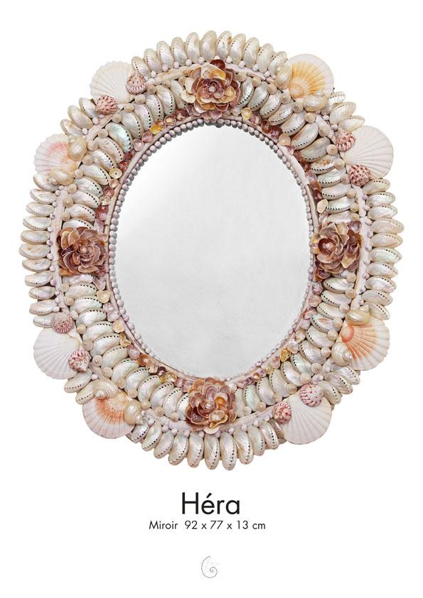 Hera Constance Lanxade Miroirs Et Ardoises Ornement 233 S De Coquillages Marins